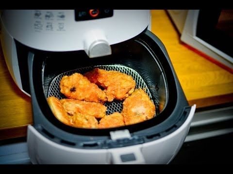 Fried Chicken Wings without oil - YouTube