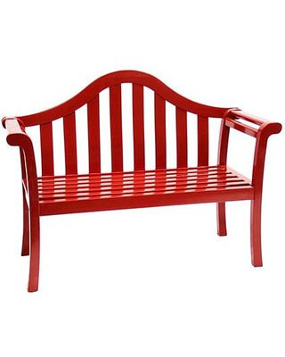 Red Garden Bench #Sale