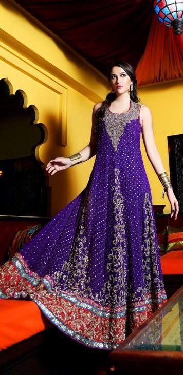 Pakistani designer dress.