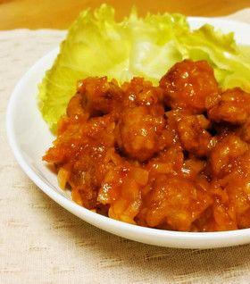 大豆ミートで絶品&ヘルシー☆鶏チリ風