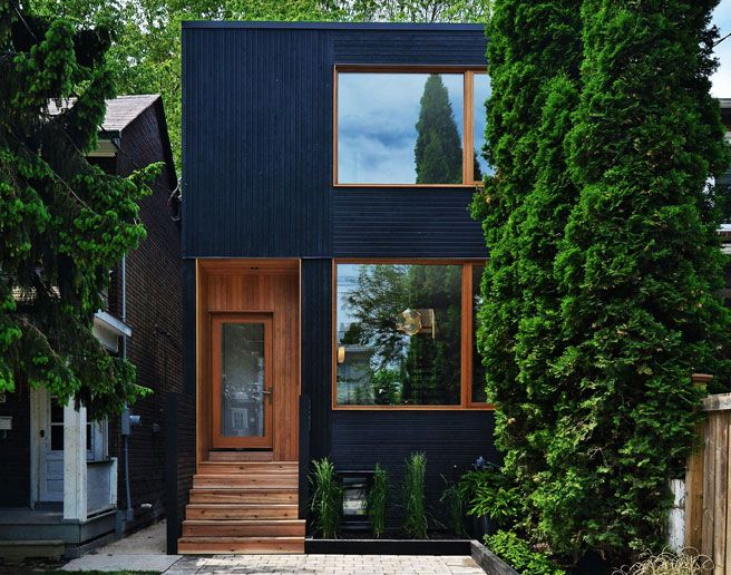 34 best images about infill house on pinterest toronto for Toronto house plans