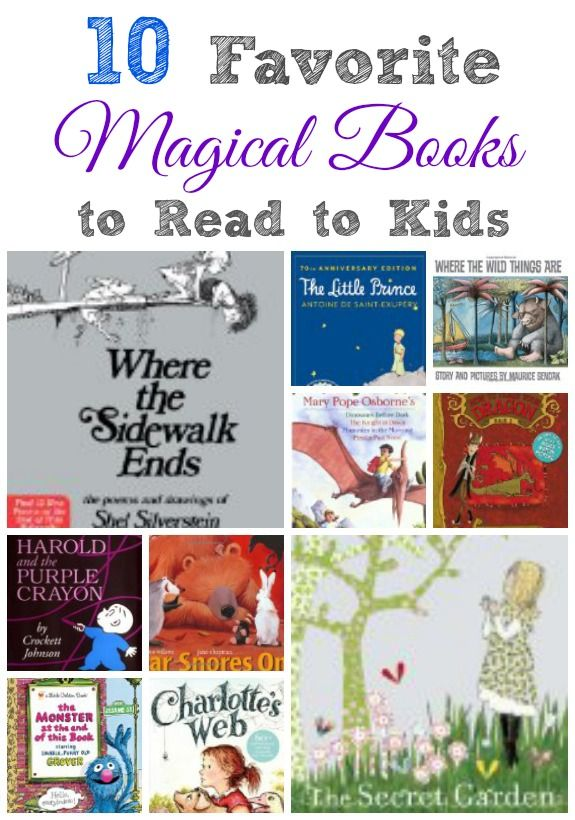 10 Favorite Magical Story Books for Kids - http://innerchildfun.com/2014/01/favorite-magical-story-books-kids.html #kids