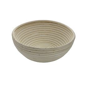 Round-Banneton-Basket from Lakeland (bad review from commenter that tried to bake their bread in the banneton...)