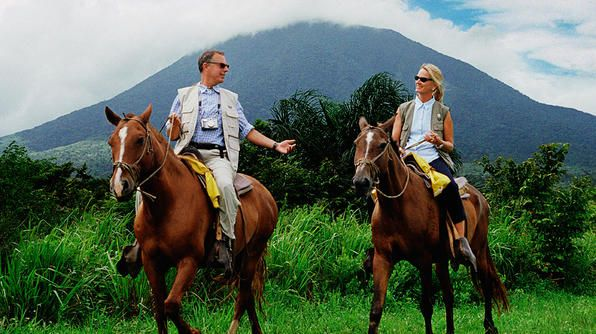 Go for a couples horseback ride while you're here with us! http://www.laparios.com/tours.html