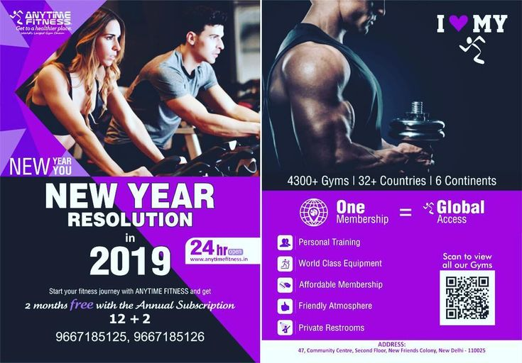 Pin Pa Anytime Fitness Creatives