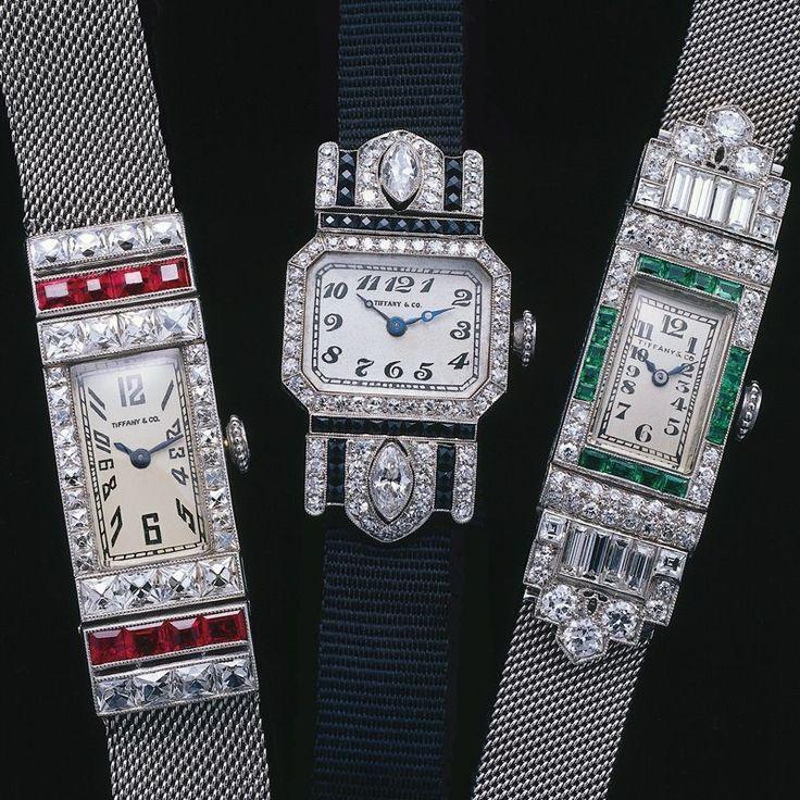 Tiffany & Co. Art Deco Watches