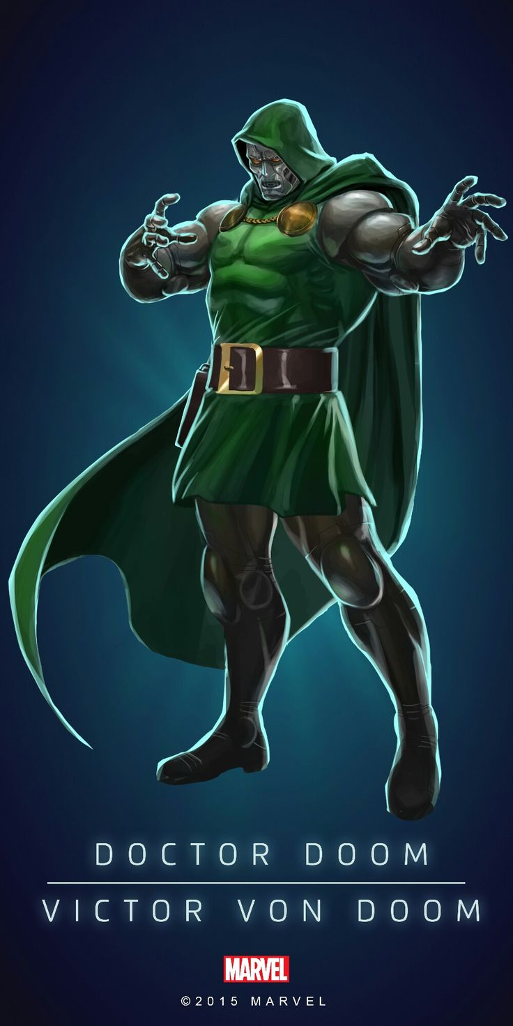 Dr. Doom - visit to grab an unforgettable cool 3D Super Hero T-Shirt!