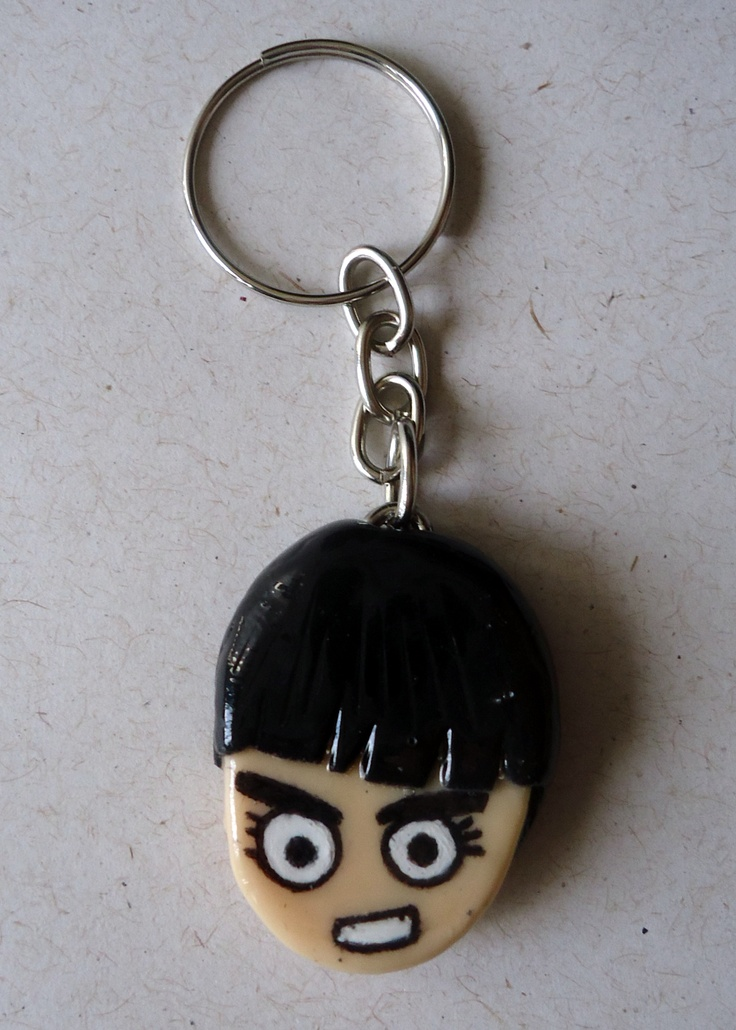 Rock Lee  anime: Naruto  handcraft keychain