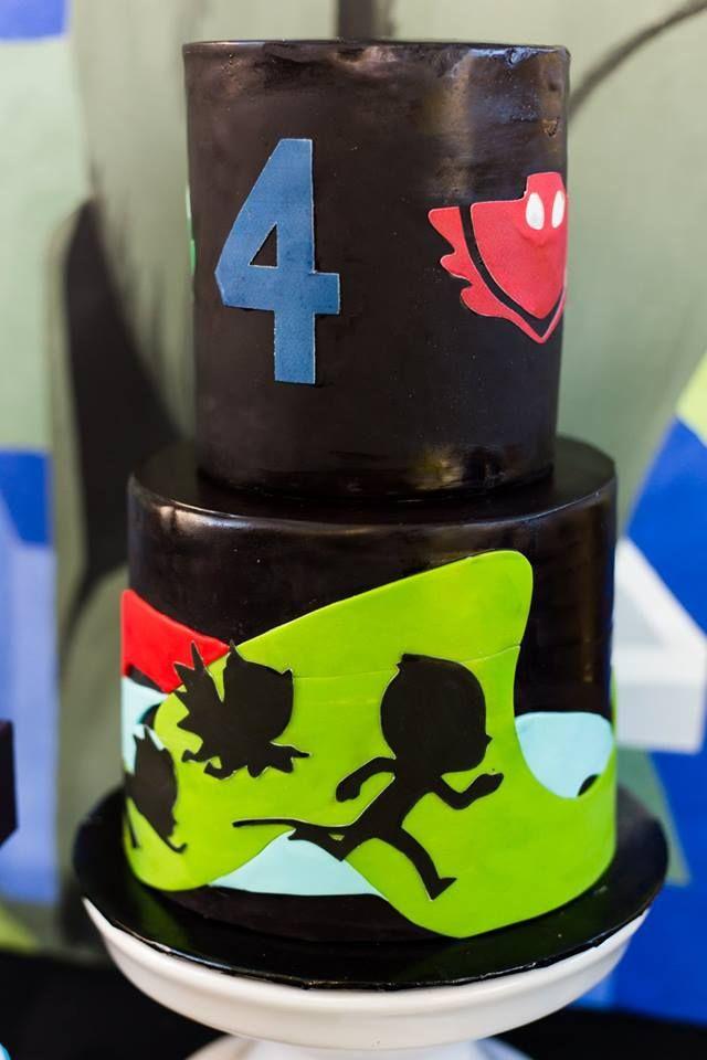 Pj Masks Party Cake Party Ideas Pj Masks