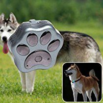 NESTTER Pets GPS Tracker ( T-Mobile 2G Micro SIM Card Required ), Locate Dog & Cat in Real-time Tracking Animals, Wifi Safe Fence Waterproof LED Lights with App for iPhone & Android (Silver)