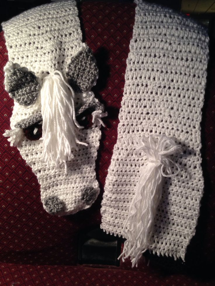 Crochet Horse Scarf Crochelle crochet Pinterest ...
