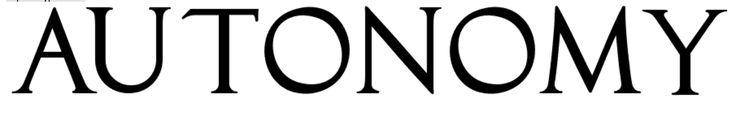 roman font of Autonomy
