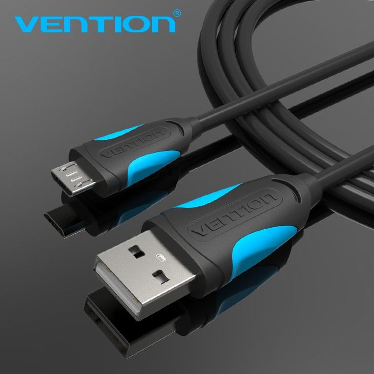 Vention Micro USB Cable Fast Charging Wire for Android Mobile Phone Data Sync Charger Cable 1M 2M 3M For Samsung HTC Xiaomi Sony //Price: $1.68//     #shopping