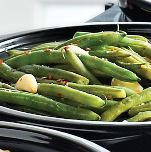 how to cook green beans on the stove