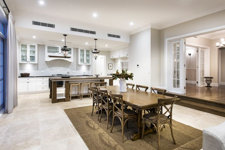 Hamptons style dining room - Oswald Homes