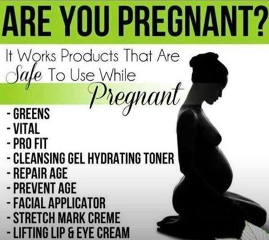 Products are all natural and healthy. Allows women that are pregnant to still use and take them. By: It Works Global  GET YOUR SEXY BACK!!  Ask me how.