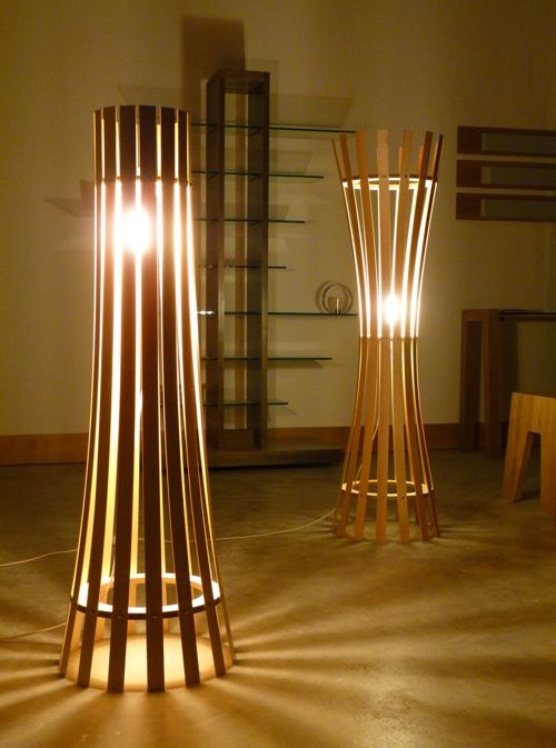 Pinch + Splay Lamps From Koo Yong Design