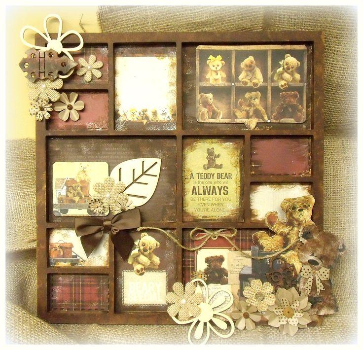 Teddy Bear's Picnic Frame (scrap-utopia) - Scrapbook.com