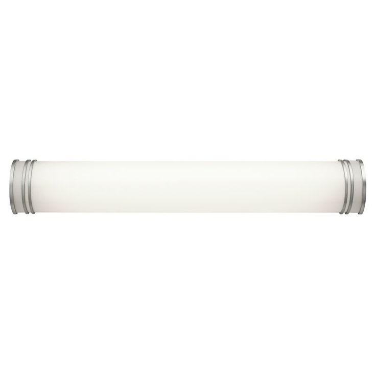 """Kichler 10331 Energy Star Rated 37.25"""" Wide 2-Bulb Bathroom Lighting Fixture White Indoor Lighting Bathroom Fixtures Vanity Light"""