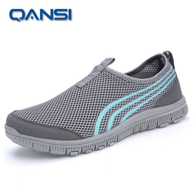 2016 de la marca de malla transpirable Verano zapatos de las mujeres de los holgazanes, casual ultraligero caminar pisos Nuevos zapatillas de deporte zapatos tamaño 40-44