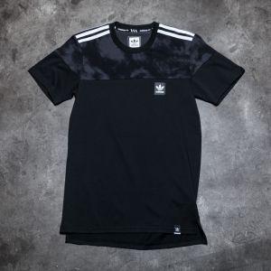 adidas Blackbird Blocked Tee Black/ Solid Grey M