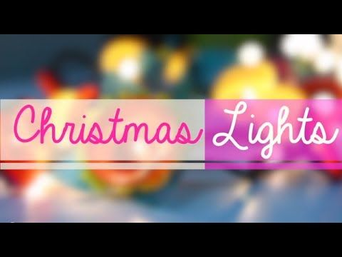 Cutest Flower Christmas Lights Tutorial!  #christmas #decoration #tabloidnova #lights #cupcake #DIY
