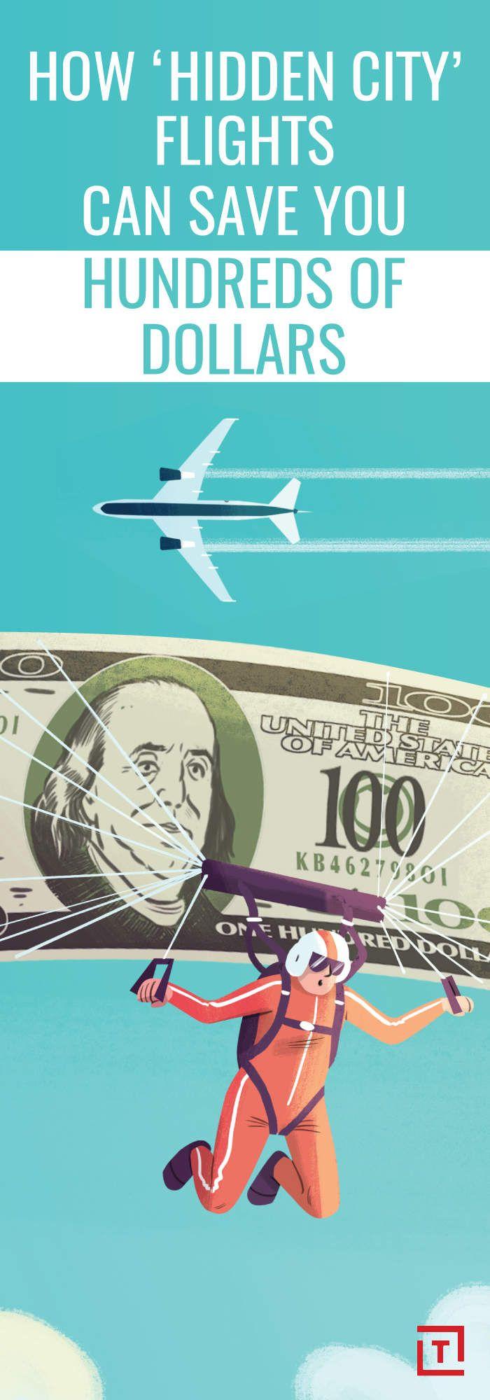 'Hidden City' Flights Will Save You Hundreds of Dollars