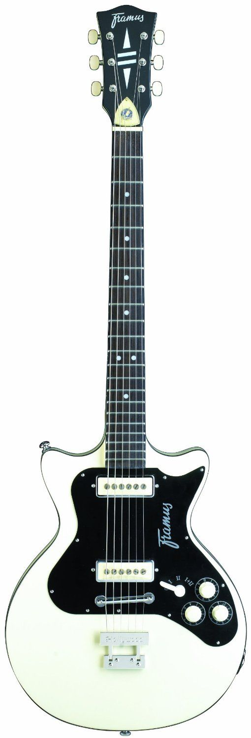 Are you looking for a new guitar? You can find a selection of FRAMUS GUITARS including this FRAMUS VINTAGE HOLLYWOOD DOUBLECUT FRO5131HOLLYDCV32 ELECTRIC GUITAR IN CREAM WHITE (free shipping) at http://jsmartmusic.com