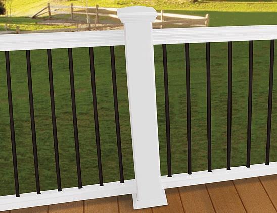 Outdoor Railing - front. Composite