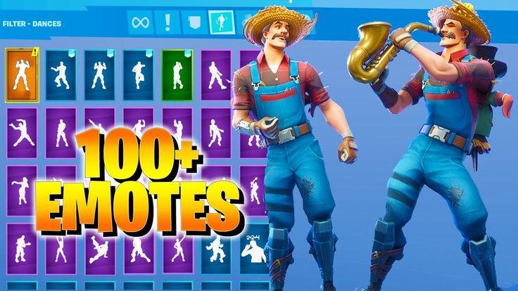 Fortnite HAYSEED Skin Dance with 100+ Emotes (including