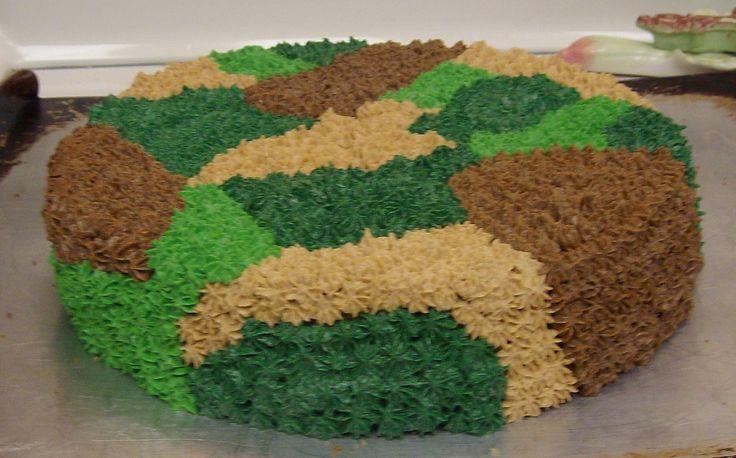 Sugar&Spice: Camouflage Cake