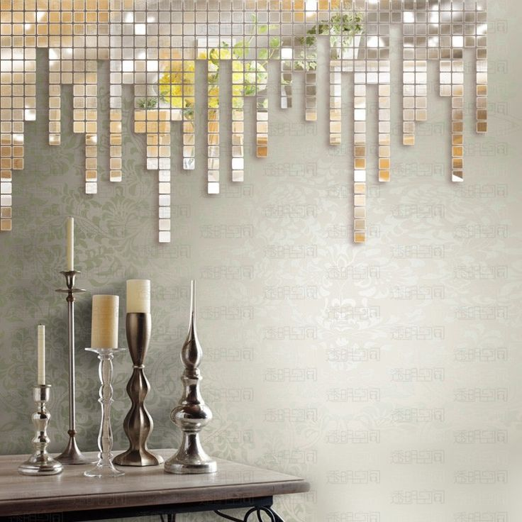 Creative mirror decorating ideas mirror walls creative and love this - Fancy wall designs ...