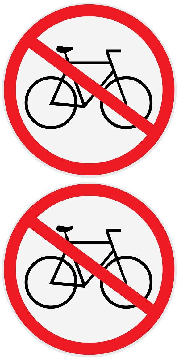 Vector Of No Bikes Allowed Sign Signs Bike