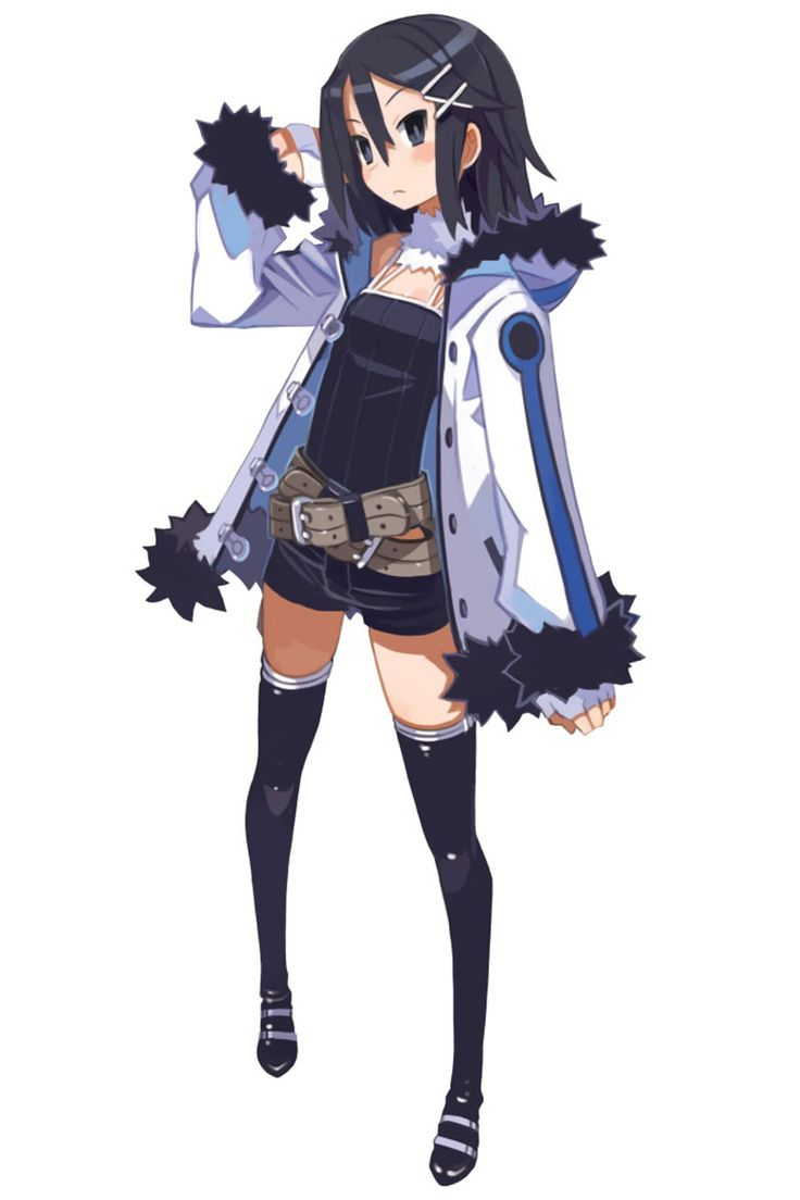 Asagi Asagiri from Disgaea and various other Nippon Ichi products. Still in search of her own game, poor lass.