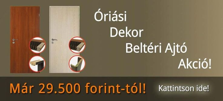 Képünk magáért beszél! Kattintsanak linkünkre, és böngésszék akciós ajánlatainkat: http://ajtod.hu/oriasi-dekor-belteri-ajto-akcio/
