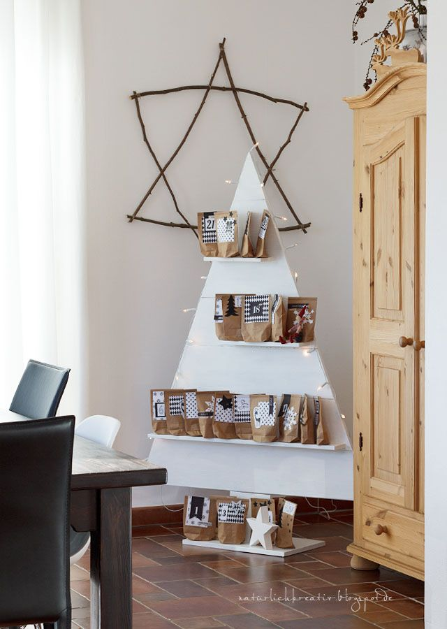 natuerlichkreativ: Adventskalender O Tannenbaum