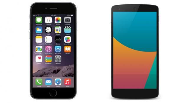 Google Nexus 5 vs Apple iPhone 6: Design, Camera, Specs, Features