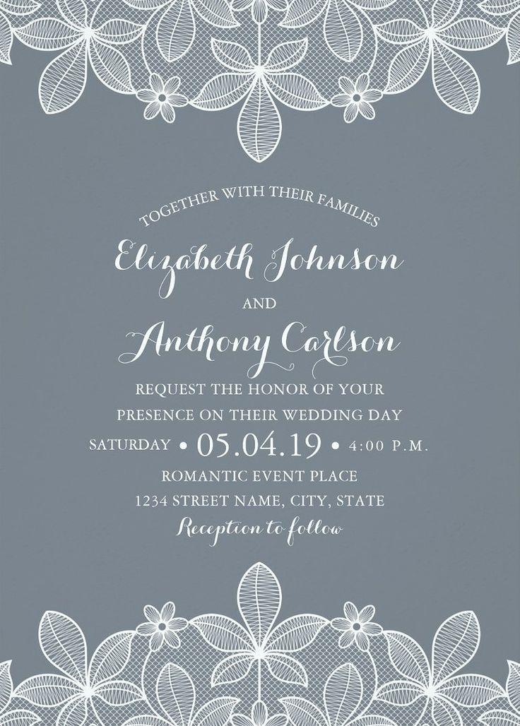 1044 best Wedding Invitations images on Pinterest Handmade