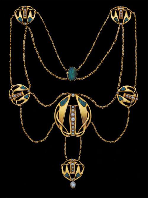 Archibald Knox necklace ca. 1900 via Tadema Gallery