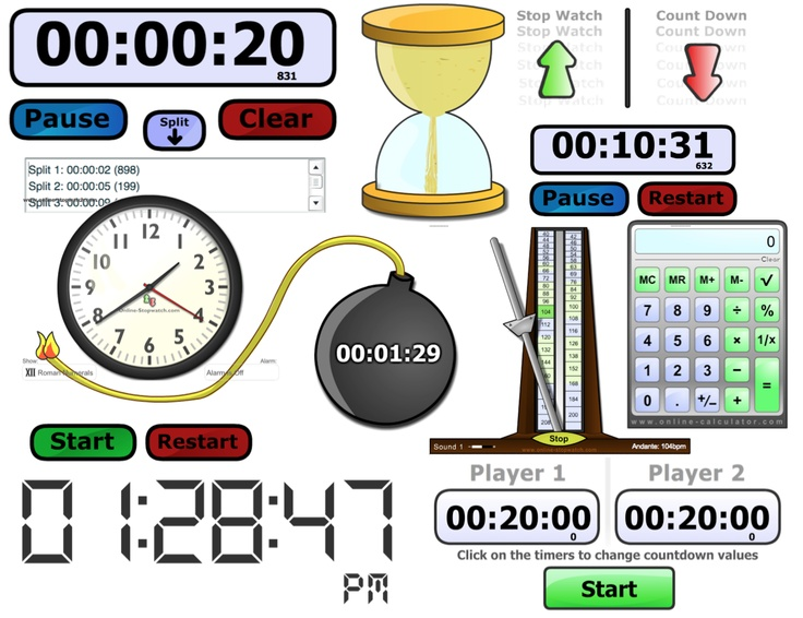 Best 25 online classroom timer ideas on pinterest school timer online stopwatch free online and downloadable stopwatches timers metronome calculator publicscrutiny Choice Image