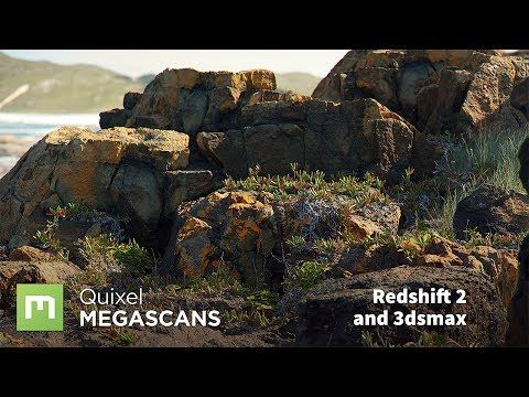 Megascans for VFX with Redshift and 3dsmax - YouTube