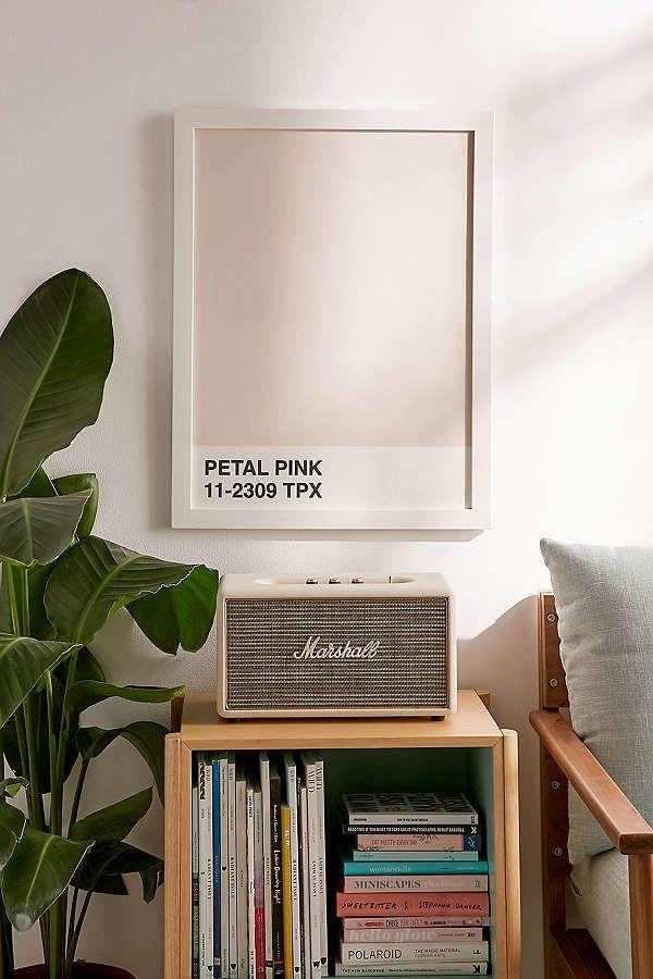 Honeymoon Hotel Petal Pink Art Print || love this simple art piece #ad