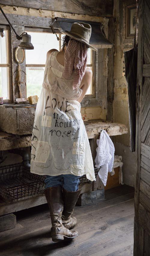 Romantische kleider nahen