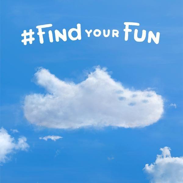 Gaze long enough and you'll #FindYourFun.  #crocs #shoes #shoesday #crocnation #spring