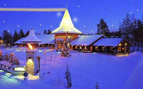 Snowcovered #Lapland hotels for all families available with Santa's Lapland.