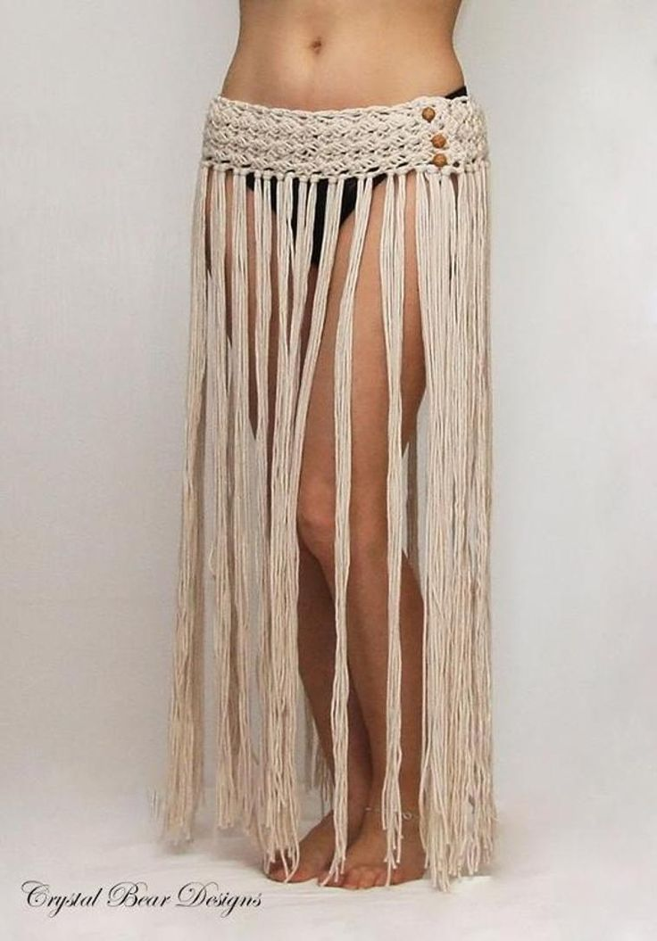 Boho Fringe Beach Skirt   Craftsy
