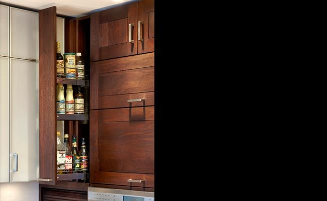 Lglimitlessdesign contest plain fancy chicago for Chocolate brown cabinets
