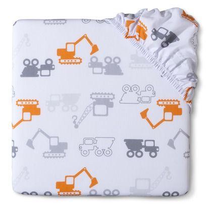 Circo® Woven Dream Truckin' Printed Fitted Crib Sheet