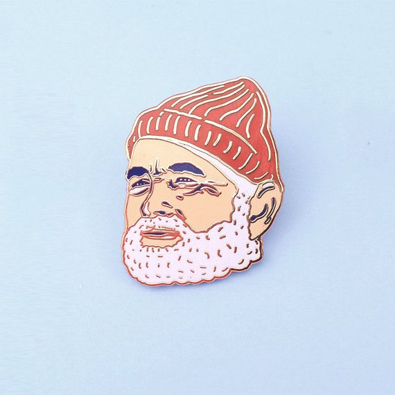 Please note this is a preorder listing. This item will be shipped on or before October 23.  This Bill Murray Enamel Pin: Gold Class Edition