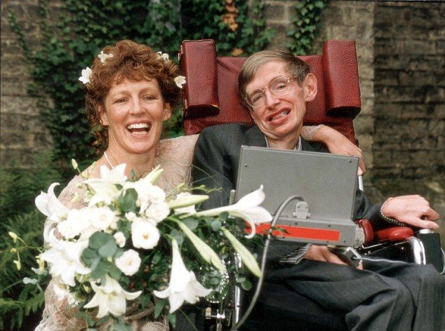 Stephen Hawking Second Wife | Professor Stephen Hawking and his second wife Elaine Mason after their ...
